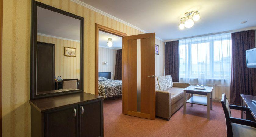 двухкомнатный номер в гостинице