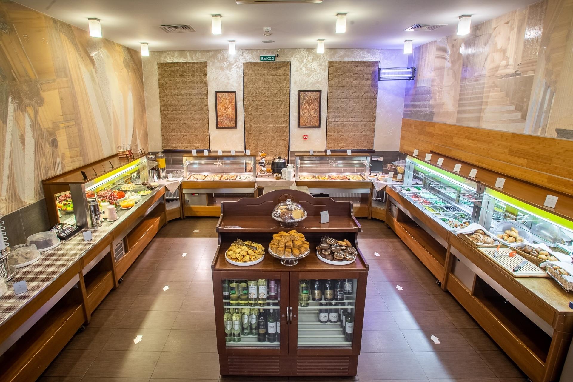 Гостиница Спутник СПб - Ресторан, Завтраки, Шведский стол